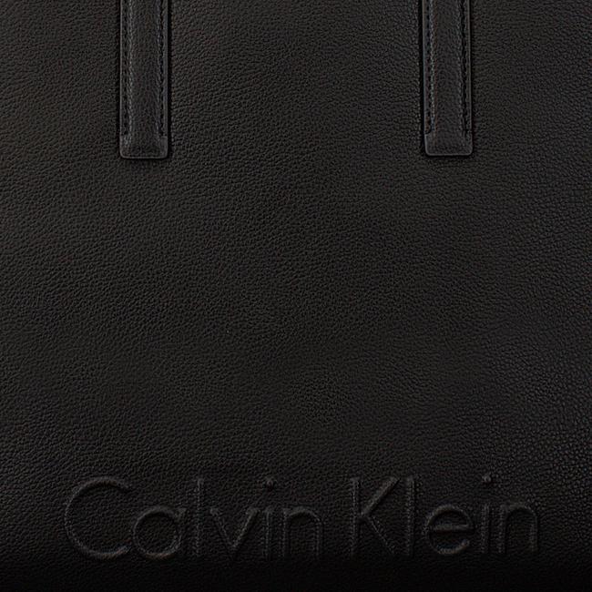 Zwarte CALVIN KLEIN Shopper EDGE LARGE SHOPPER - large