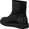 Zwarte SHABBIES Enkelboots 181020029  - small
