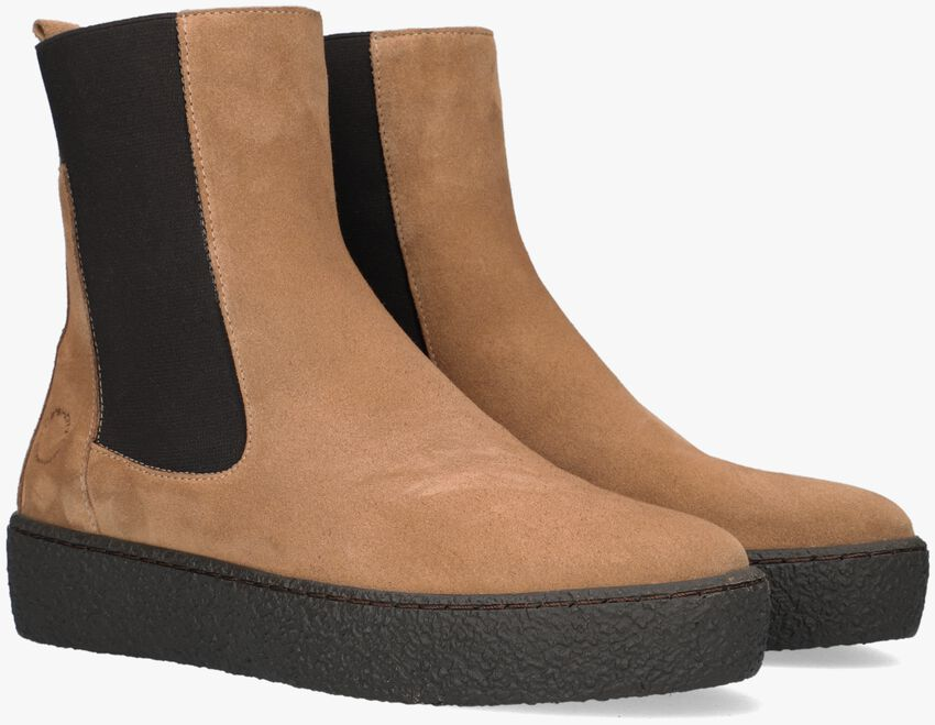 Taupe CA'SHOTT Chelsea boots 22122  - larger
