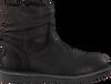 Zwarte GIGA Enkellaarsjes 8704  - small