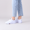 Witte TOMMY HILFIGER Lage sneakers TOMMY JEANS FASHION CUPSOLE  - small