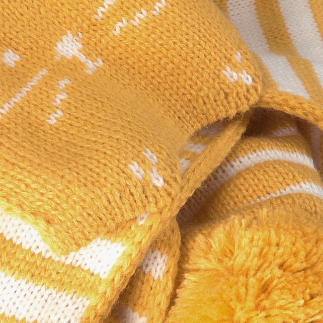 Gele TON & TON Sjaal SVEA  - large