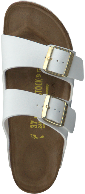 Witte BIRKENSTOCK PAPILLIO Slippers ARIZONA DAMES  - large