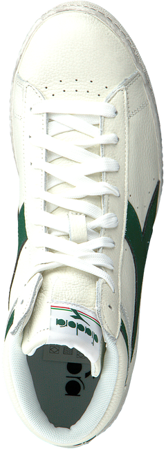 Witte DIADORA Hoge sneaker GAME L HIGH  WAXED - large