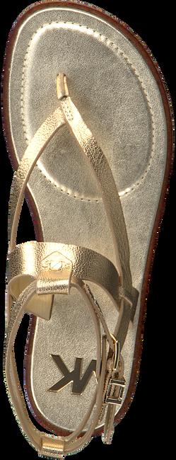 Gouden MICHAEL KORS Sandalen PEARSON THONG  - large
