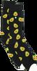 Zwarte ALFREDO GONZALES Sokken AVOCADOS - small