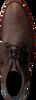 Bruine REHAB Nette schoenen SALVADOR ZIG ZAG - small