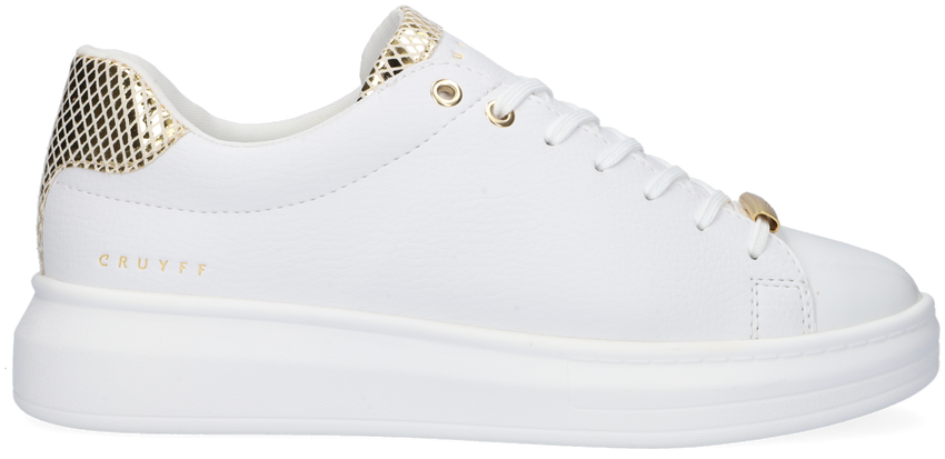 Witte CRUYFF CLASSICS Lage sneakers PACE  - larger