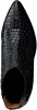 Zwarte VIA VAI Enkellaarsjes 5202079  - small