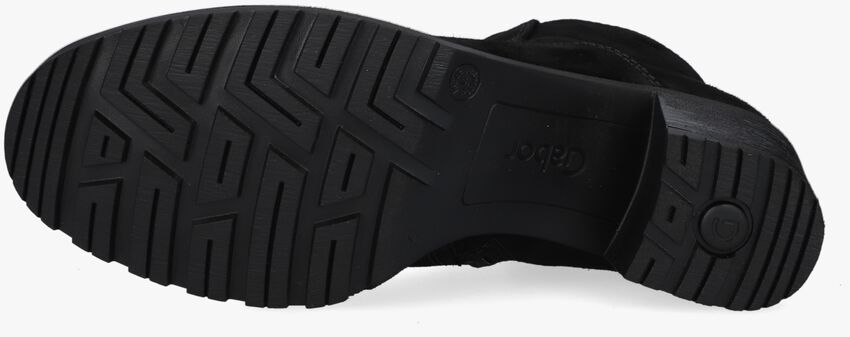 Zwarte GABOR Enkellaarsjes 800.1  - larger