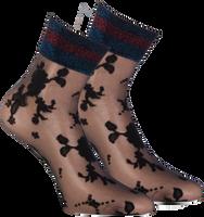 Zwarte MARCMARCS Sokken FLOWER LUREX CUFF - medium