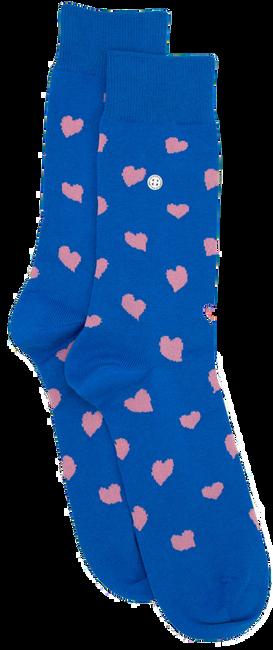 Blauwe ALFREDO GONZALES Sokken HEARTS - large