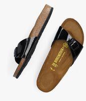 Zwarte BIRKENSTOCK PAPILLIO Slippers MADRID  - medium