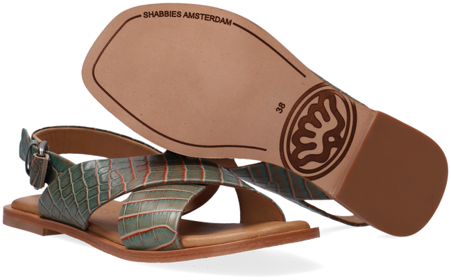 Groene SHABBIES Sandalen 170020157  - large