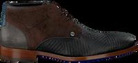 Zwarte REHAB Nette schoenen SALVADOR ZIG ZAG  - medium