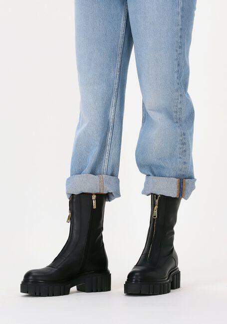 Zwarte NOTRE-V Biker boots 03-433  - large