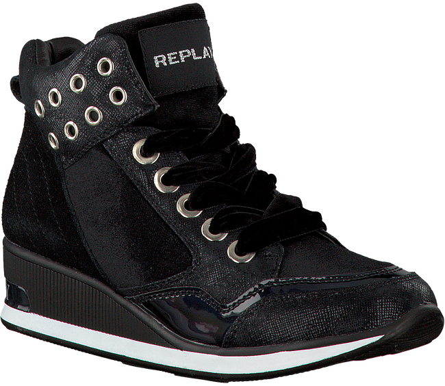 Zwarte REPLAY Sneakers PLANT  - large