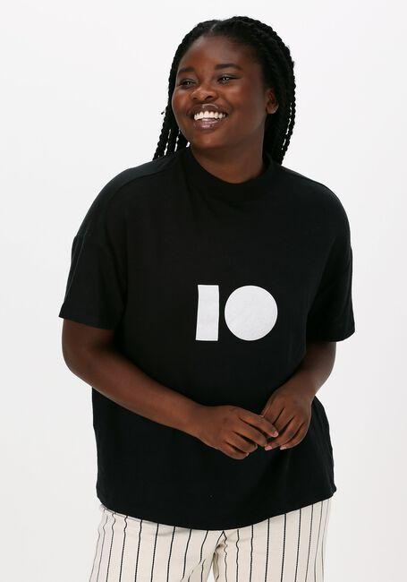 Witte 10 DAYS T-shirt HIGH NECK TEE LINEN - large