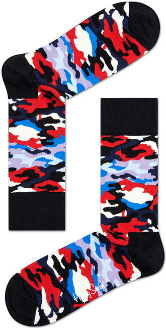 Zwarte HAPPY SOCKS Sokken BC01 - large