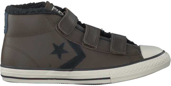 Bruine CONVERSE Sneakers STAR PLAYER 3V MID  - large