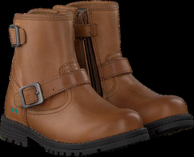 Cognac BUNNIES JR Biker boots TINA TROTS - large