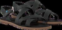 Zwarte TOMS Sandalen WM SICILY SAND  - medium