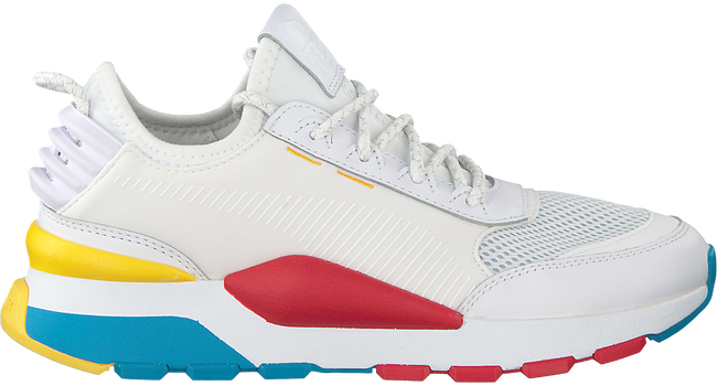 Witte PUMA Sneakers RS-0 PLAY DAMES - large
