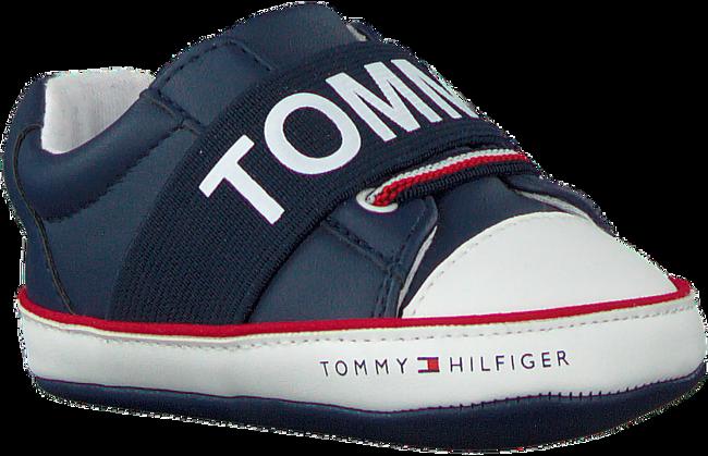 Blauwe TOMMY HILFIGER Babyschoenen LACE-UP SHOE  - large