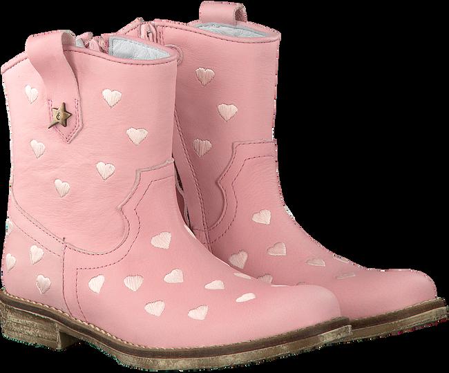 Roze FABIENNE CHAPOT Enkellaarsjes MANDY - large