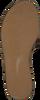 Gouden TOMMY HILFIGER Slippers METALLIC FLAT MULE - small