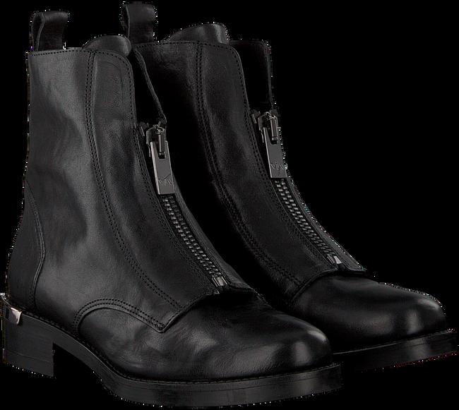 Zwarte VIA VAI Enkellaarsjes 5105018 - large