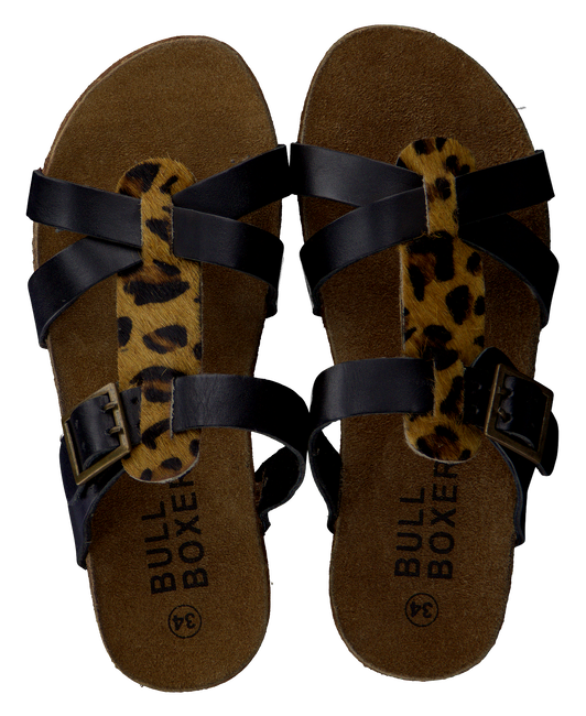 Zwarte BULLBOXER Slippers AFS003  - large