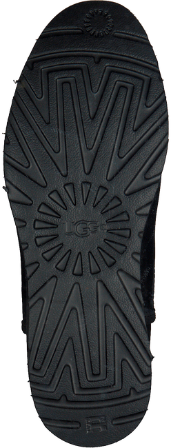 Zwarte UGG Vachtlaarzen KRISTIN  - large