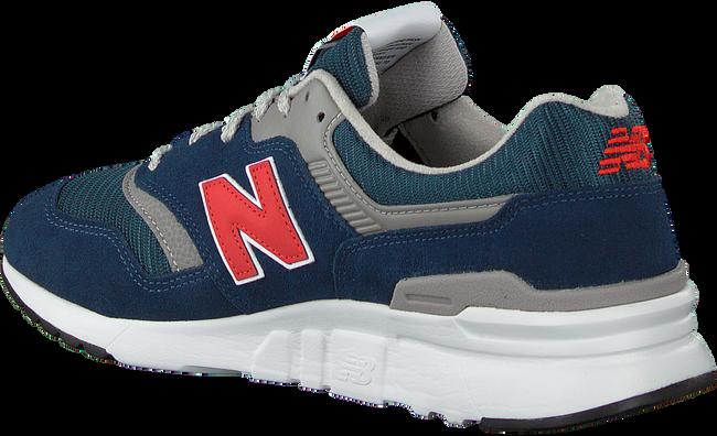 Blauwe NEW BALANCE Lage sneakers CM997  - large