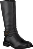 Zwarte APPLES & PEARS Lange laarzen EVORA  - small
