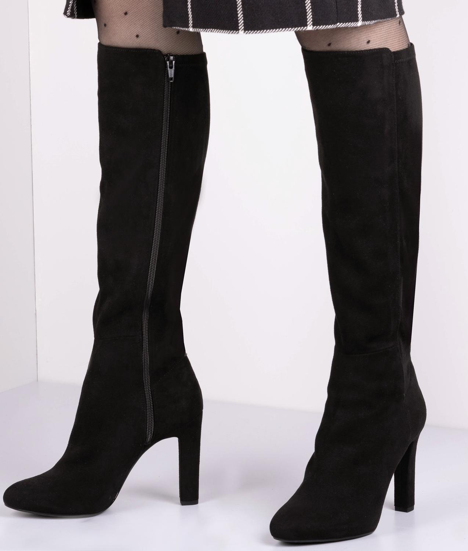 Zwarte UNISA Lange laarzen PHIL   Omoda