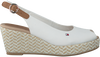 Witte TOMMY HILFIGER Espadrilles ELBA 39D  - small