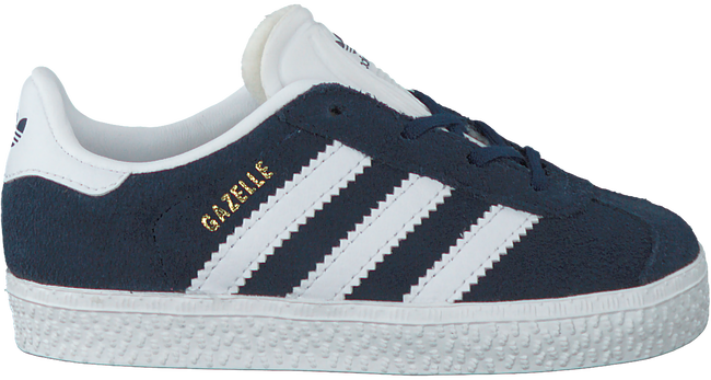 Blauwe ADIDAS Sneakers GAZELLE KIDS  - large