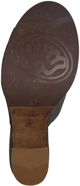 groene SHABBIES Sandalen 163020012  - large