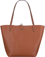 Cognac GUESS Handtas ALBY TOGGLE TOTE  - medium