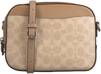 Beige COACH Schoudertas CAMERA BAG  - medium