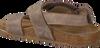 Bruine CLIC! Sandalen TROY - small