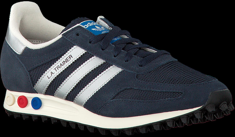 Blauwe ADIDAS Sneakers LA TRAINER OG HEREN Omoda
