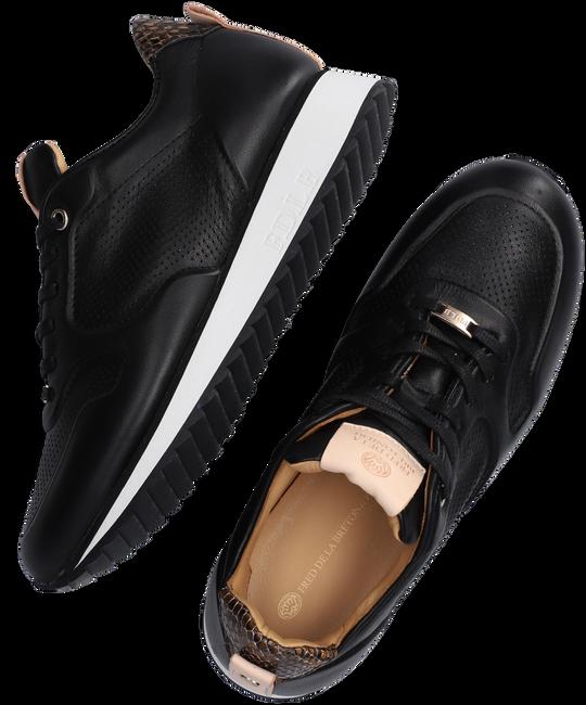 Zwarte FRED DE LA BRETONIERE Lage sneakers 101010215  - large