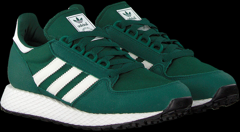 adidas schoenen zwart groen