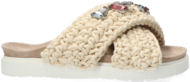 Beige INUIKII Slippers WOVEN STONE - large