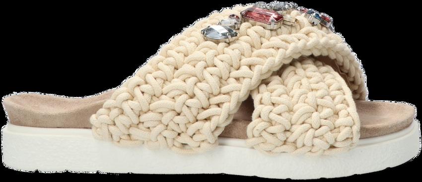 Beige INUIKII Slippers WOVEN STONE - larger