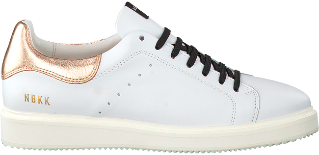 Witte NUBIKK Sneakers NOAH CLASSIC LACE  - large