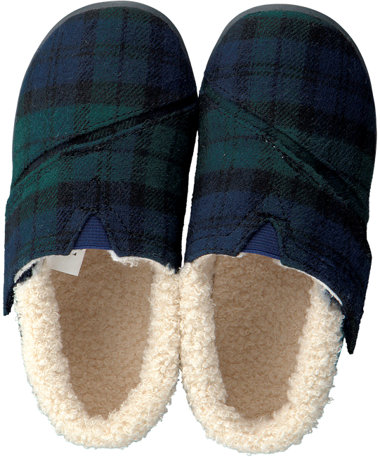 Blauwe TOMS Pantoffels HOUSE SLIPPER - large