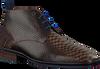 Bruine FLORIS VAN BOMMEL Nette schoenen 10960  - small